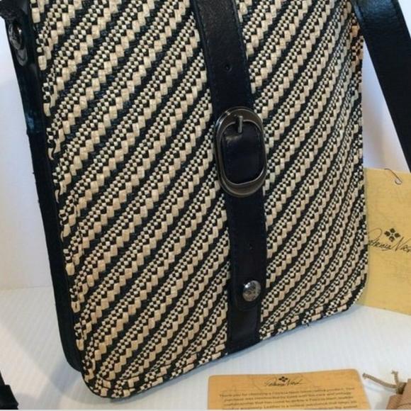 Patricia nash venezia woven pouch NWT